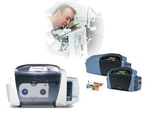 fargo card printer technician