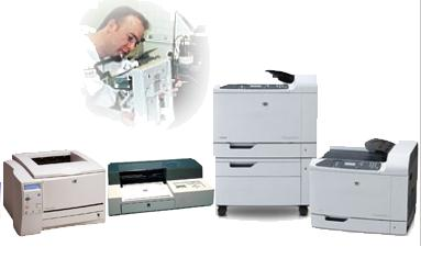 printer repair contract technician