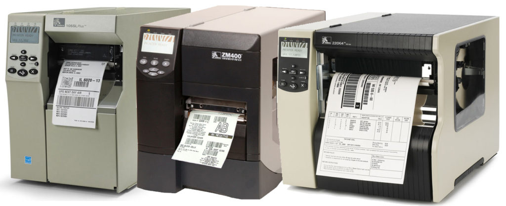 zebra thermal barcode printer service contracts