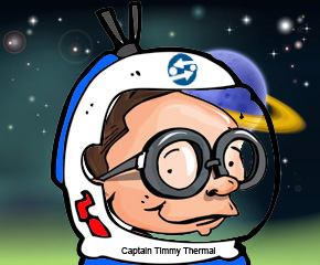Timmy Thermal Space Man