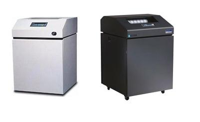 ibm printronix line printers