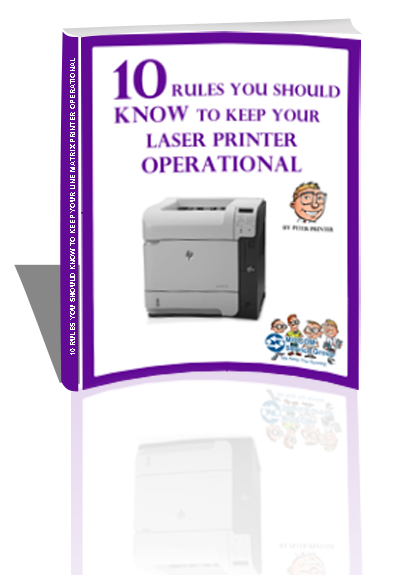 laser printer maintenance ebook