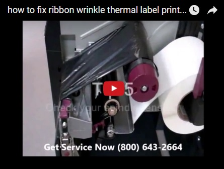 how to fix ribbon wrinkle