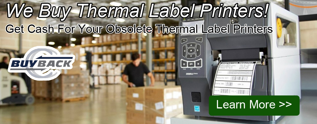 thermal label printer buyback program