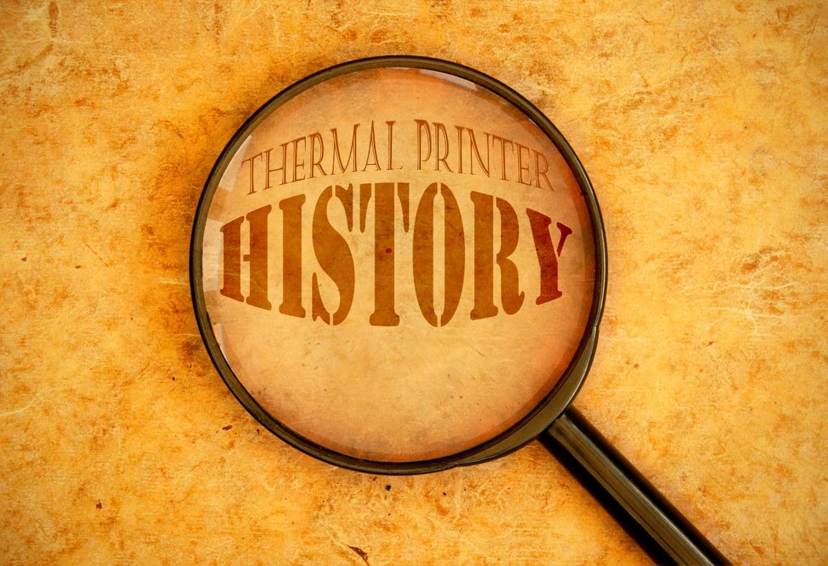 thermal printer history