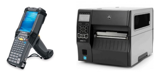 thermal label printer barcode scanner repair