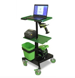 newcastle systems lt series laptop cart