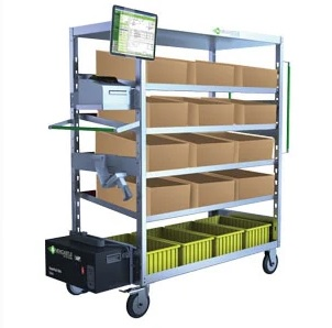 newcastle systems mobile power for picking carts