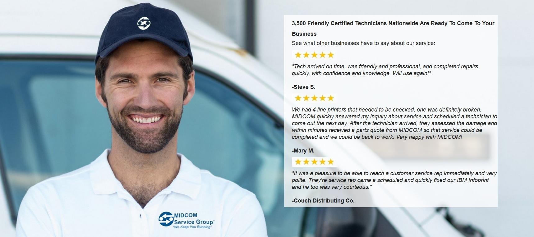 midcom service group reviews