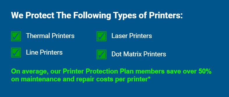 printer service contracts types