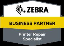 zebra business partner printer repair specialist